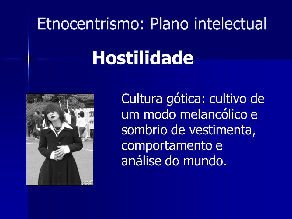 Etnocentrismo: Plano intelectual