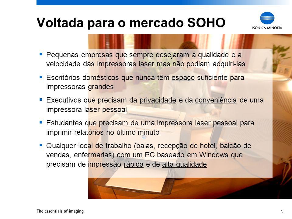 Voltada para o mercado SOHO