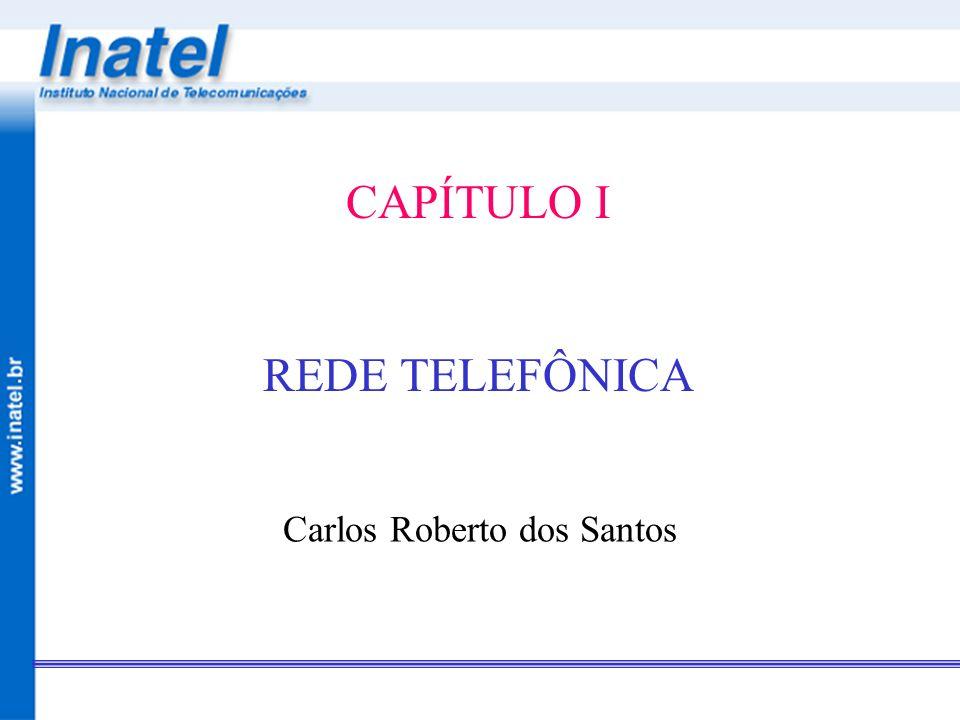 CAPÍTULO I REDE TELEFÔNICA