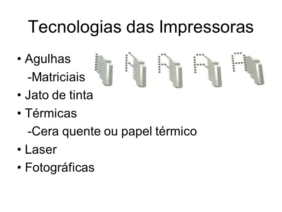 Tecnologias das Impressoras