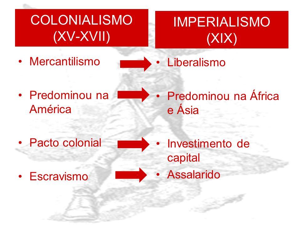 COLONIALISMO (XV-XVII)