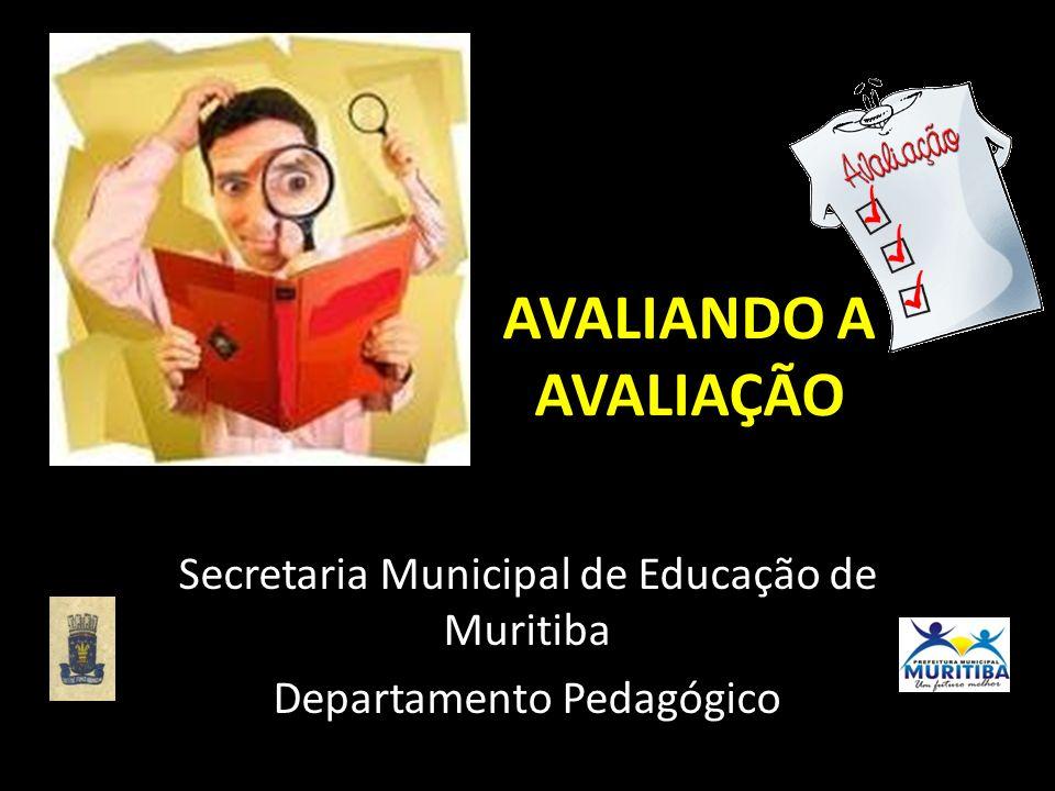 Secretaria Municipal de Educação de Muritiba Departamento Pedagógico