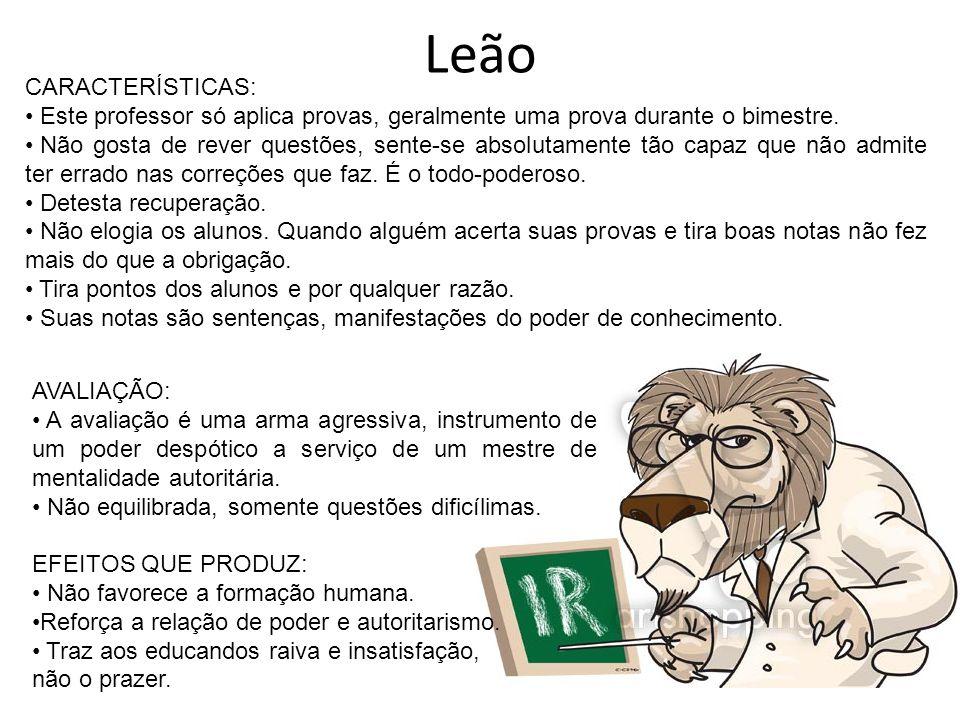 Leão CARACTERÍSTICAS: