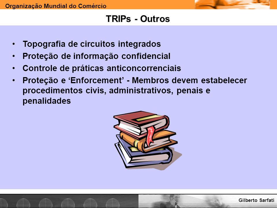 TRIPs - Outros Topografia de circuitos integrados