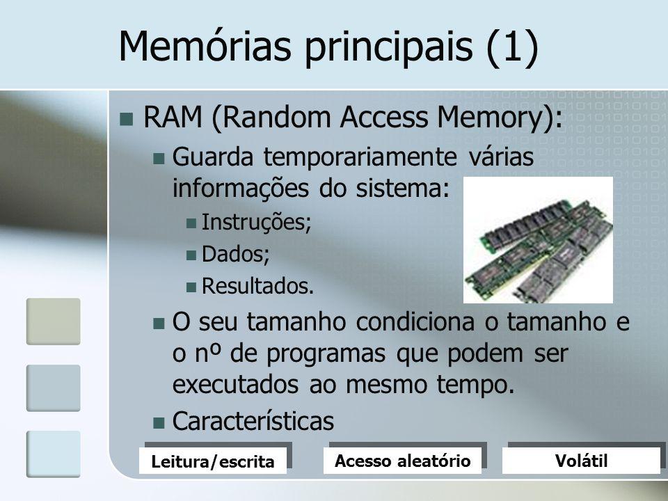 Memórias principais (1)