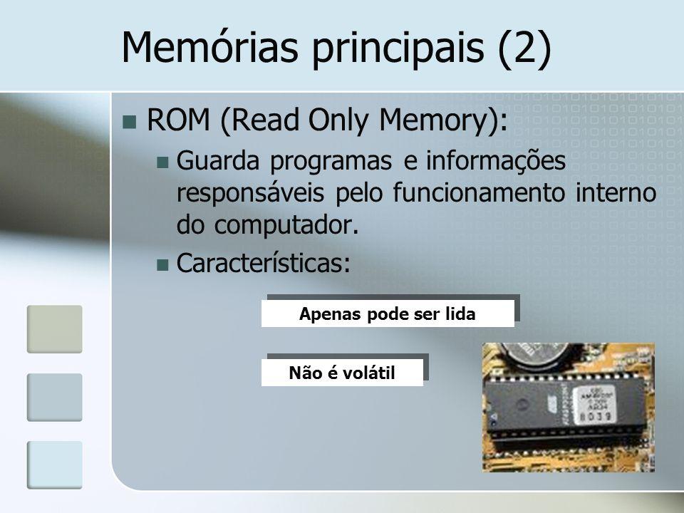 Memórias principais (2)
