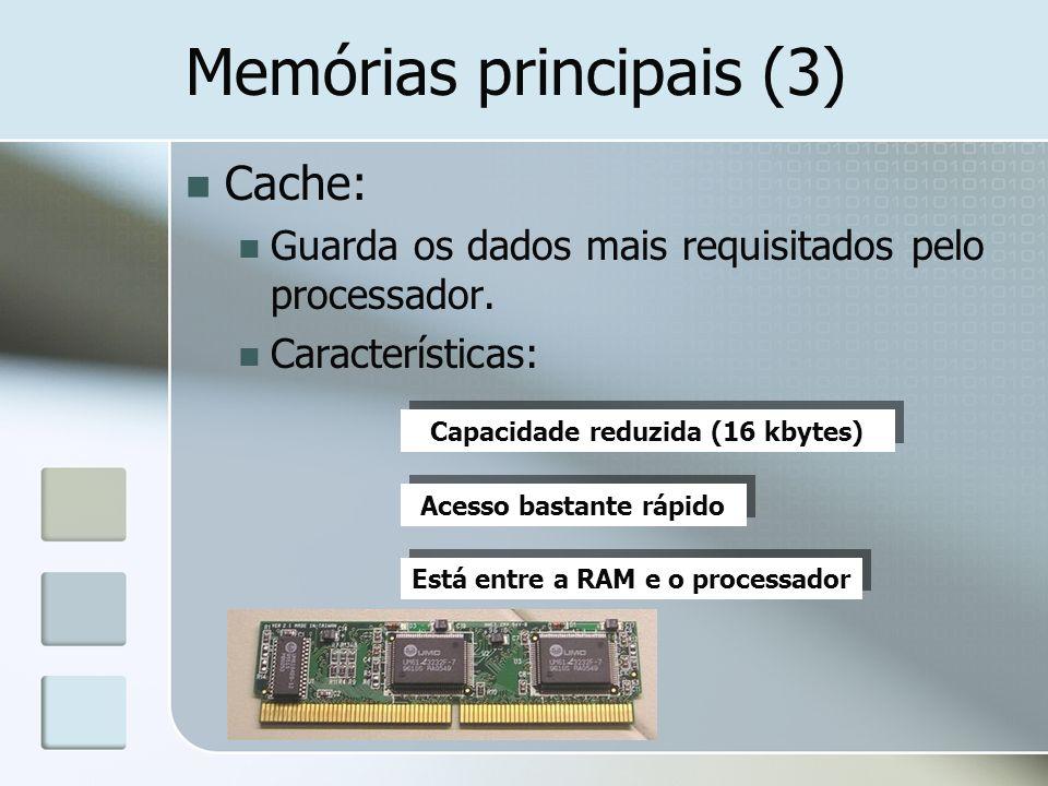 Memórias principais (3)