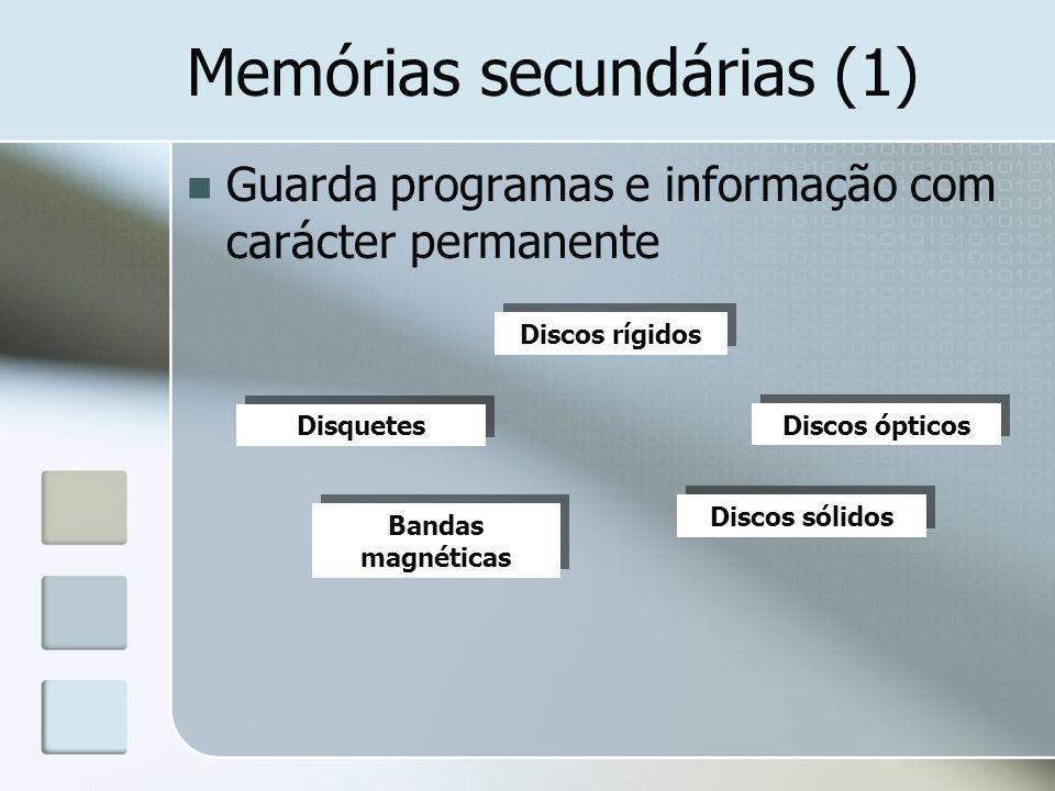 Memórias secundárias (1)
