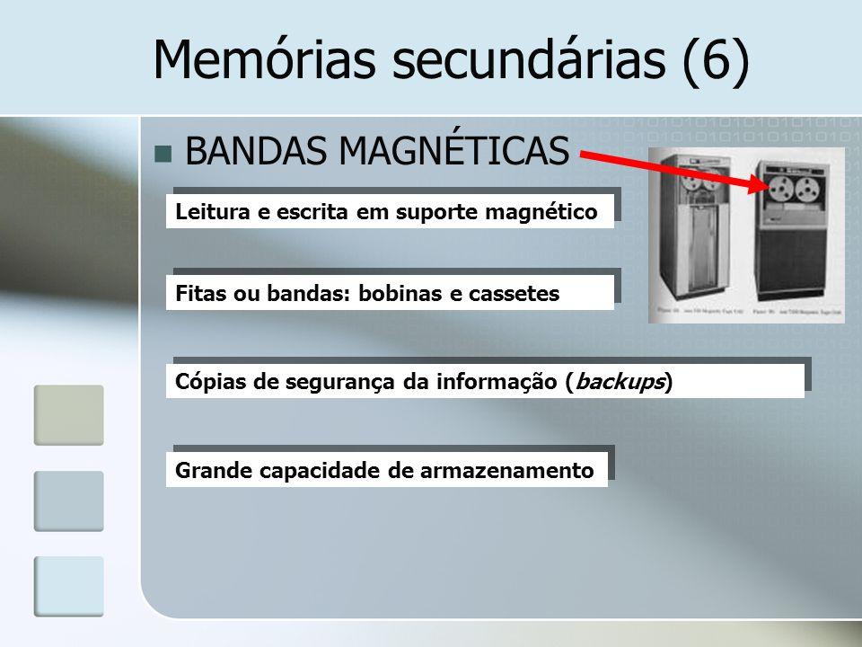 Memórias secundárias (6)