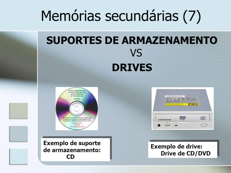 Memórias secundárias (7)