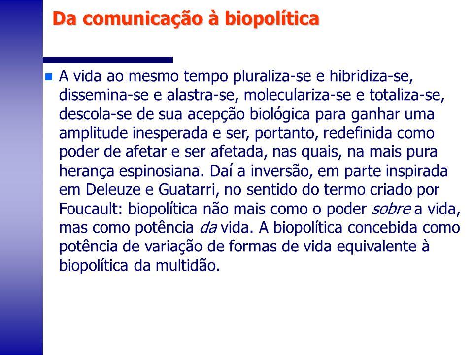 Da comunicação à biopolítica