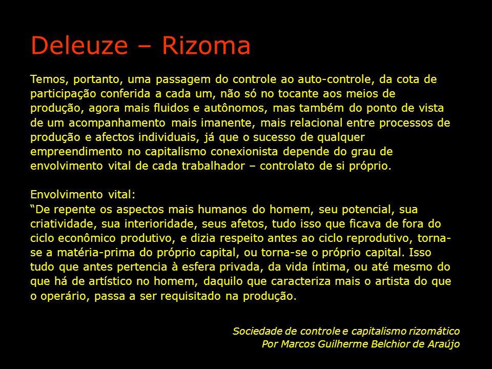 Deleuze – Rizoma