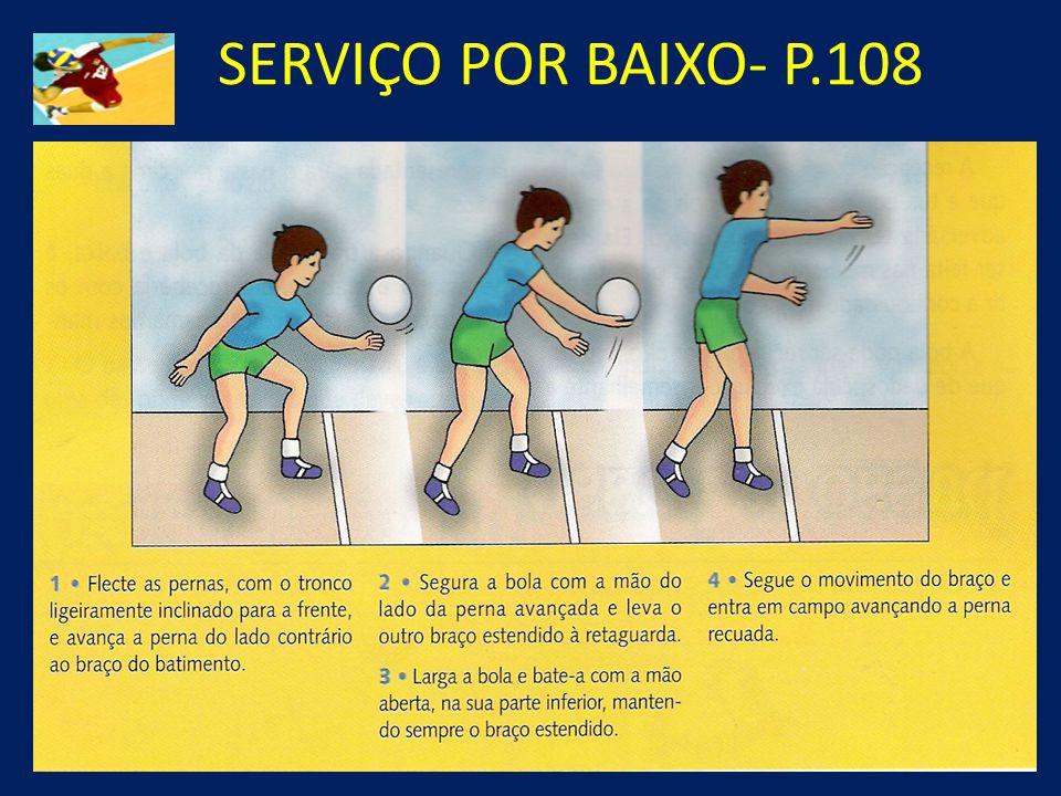SERVIÇO POR BAIXO- P.108