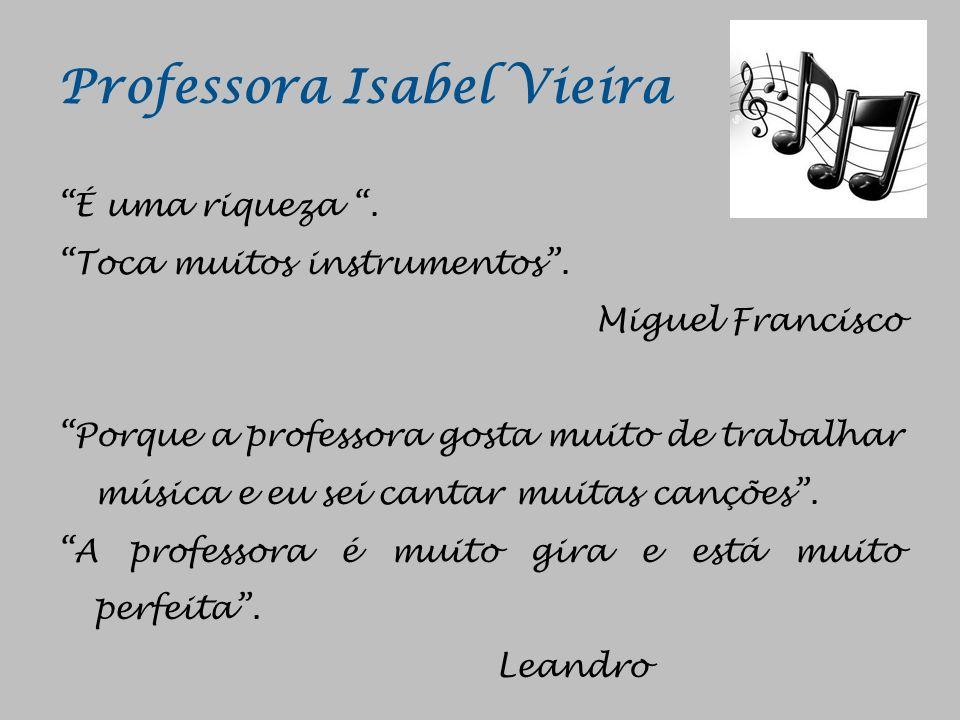 Professora Isabel Vieira