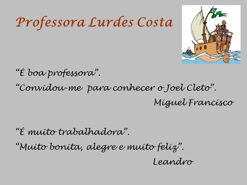 Professora Lurdes Costa