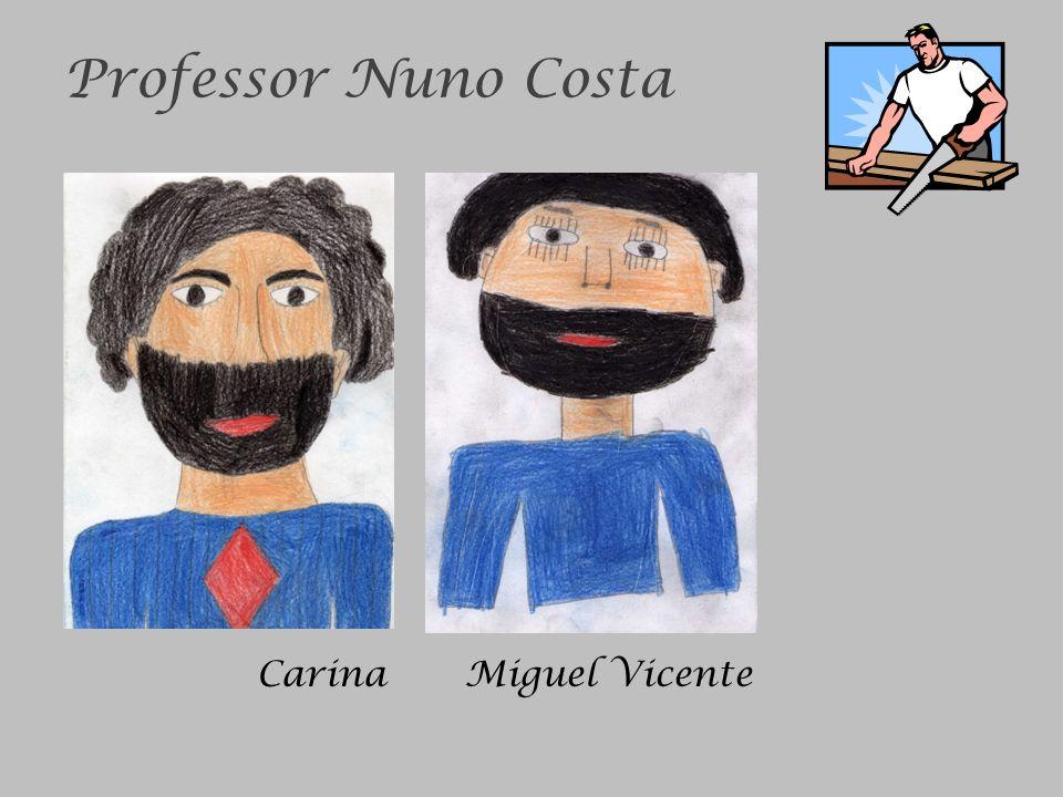 Professor Nuno Costa Carina Miguel Vicente