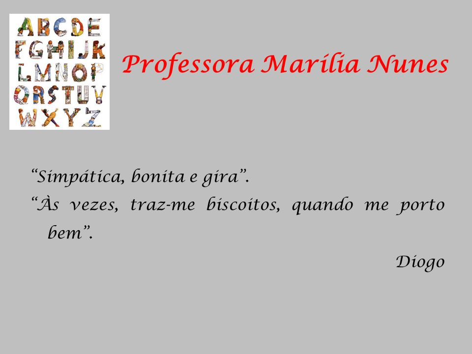 Professora Marília Nunes
