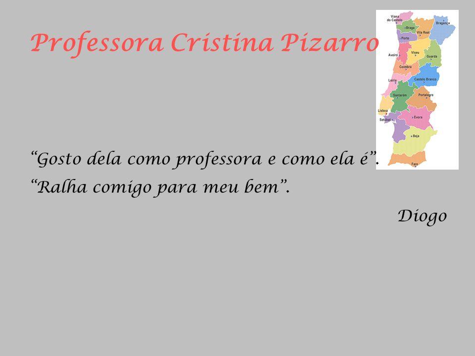 Professora Cristina Pizarro