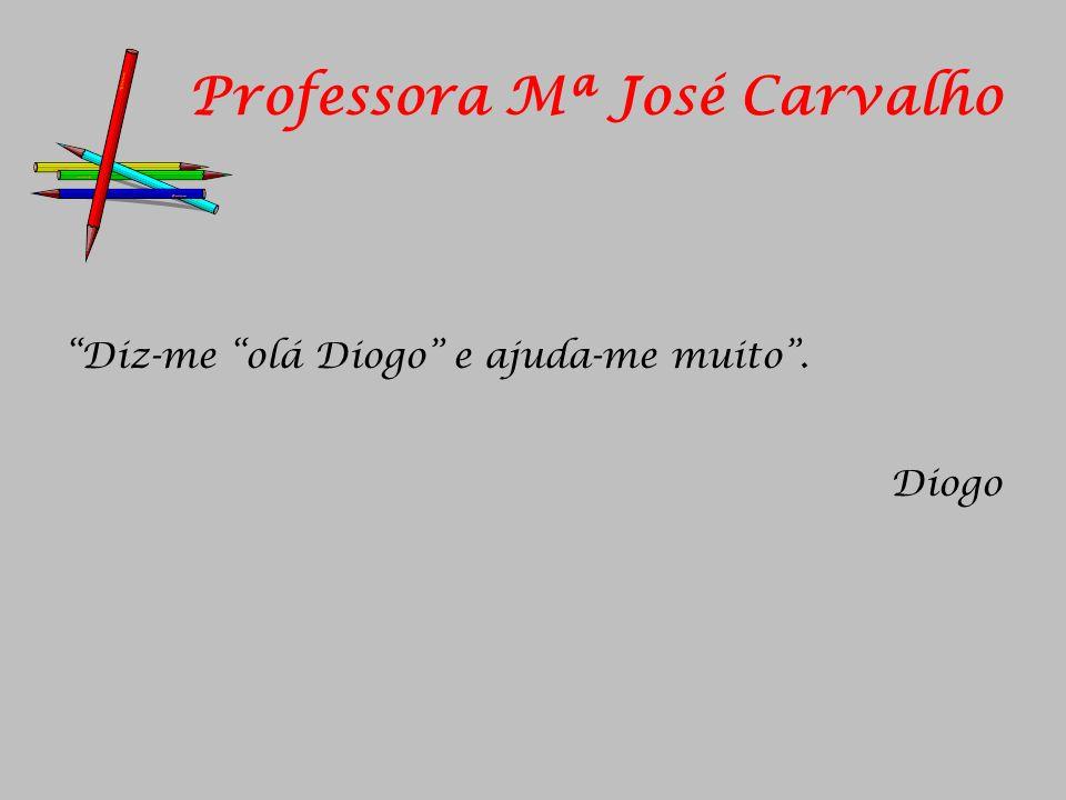 Professora Mª José Carvalho