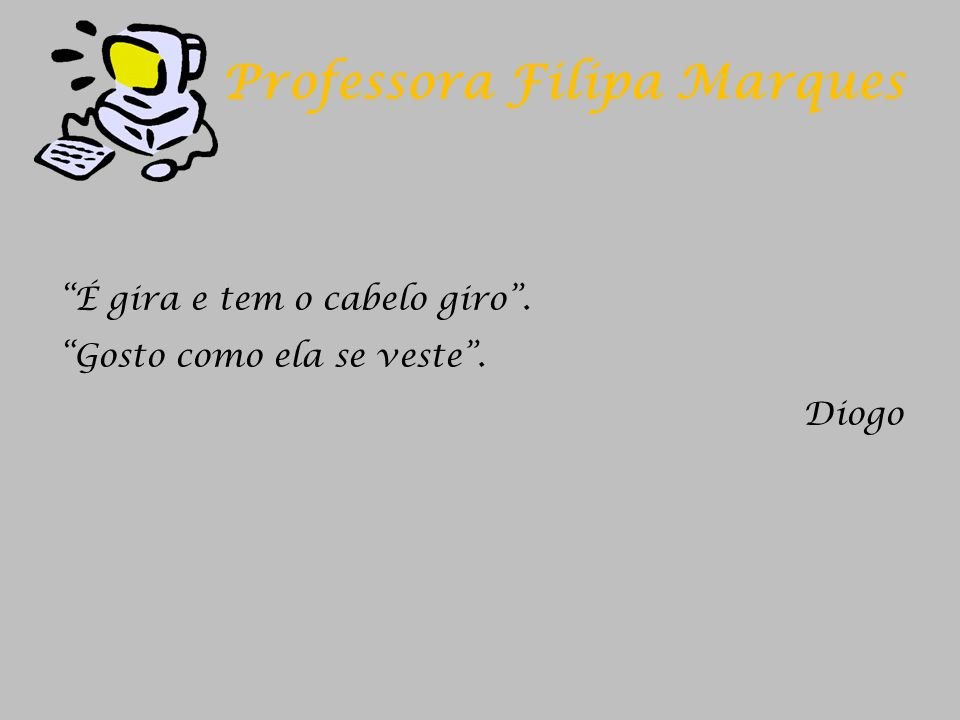 Professora Filipa Marques