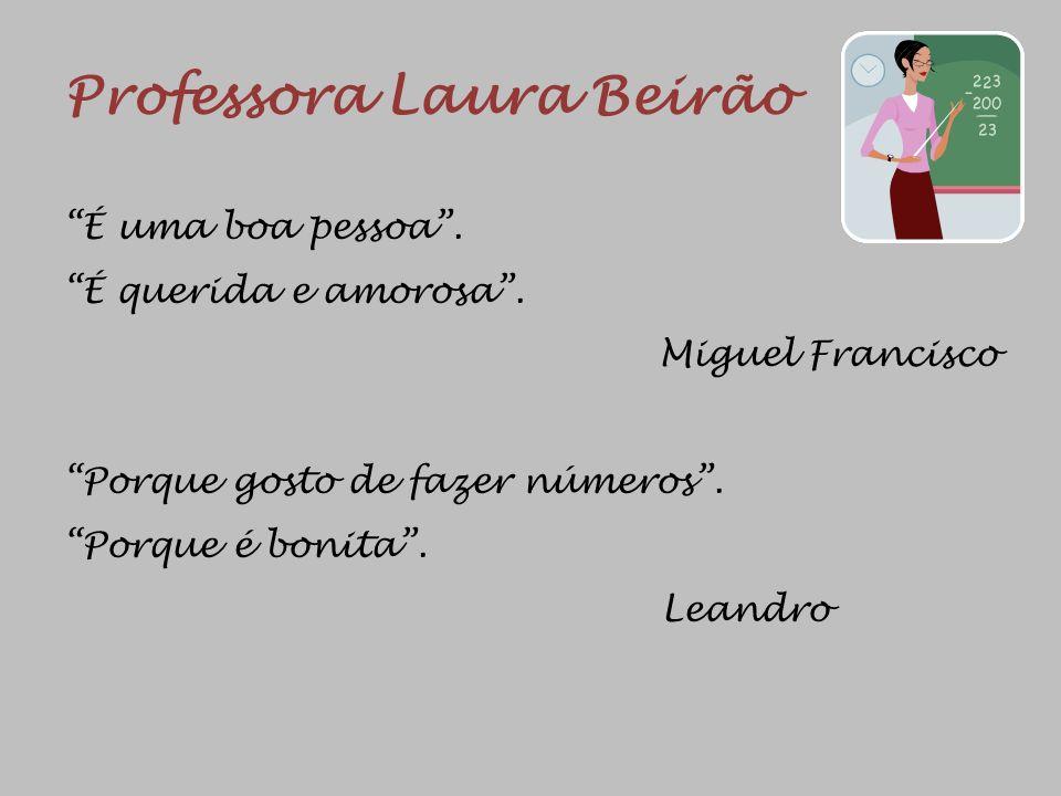 Professora Laura Beirão