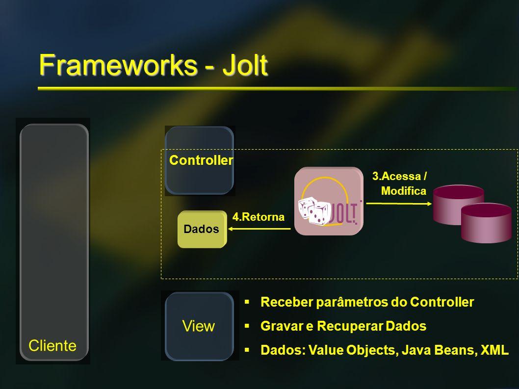 Frameworks - Jolt View Cliente Controller