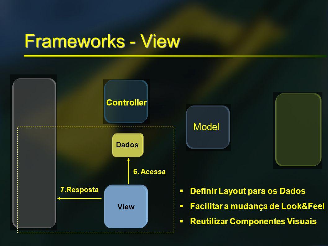 Frameworks - View Model Controller Definir Layout para os Dados
