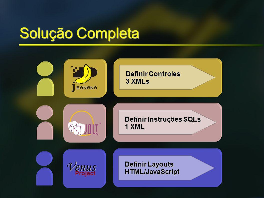 Solução Completa Venus Definir Controles 3 XMLs