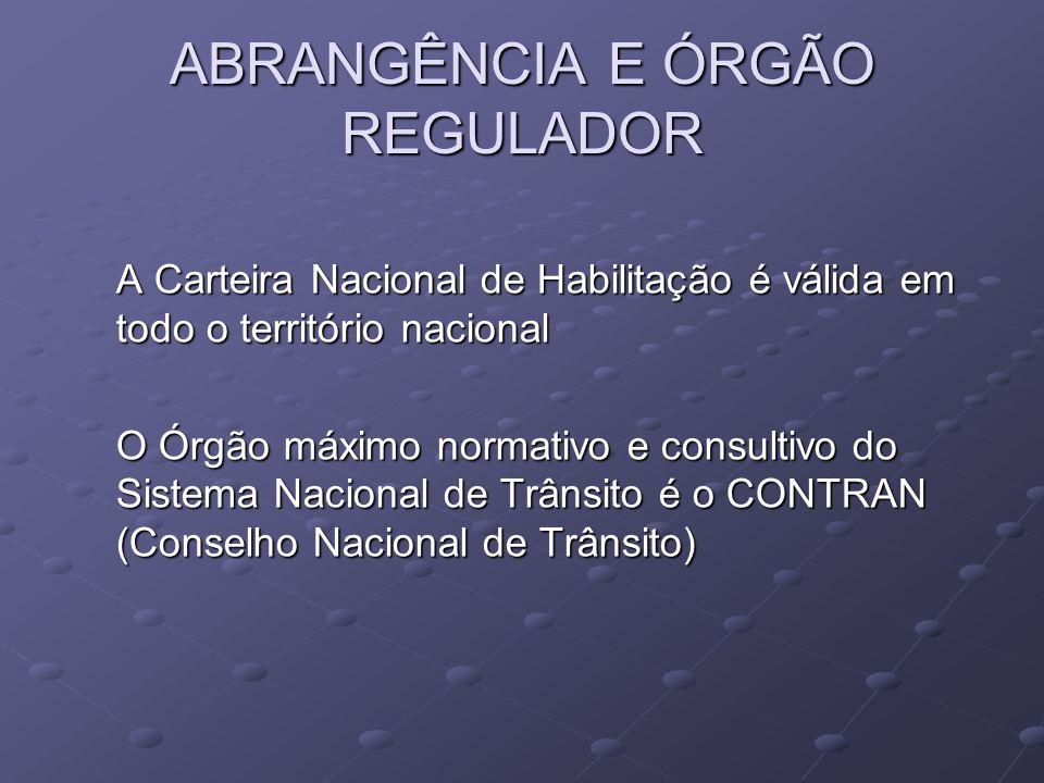 ABRANGÊNCIA E ÓRGÃO REGULADOR