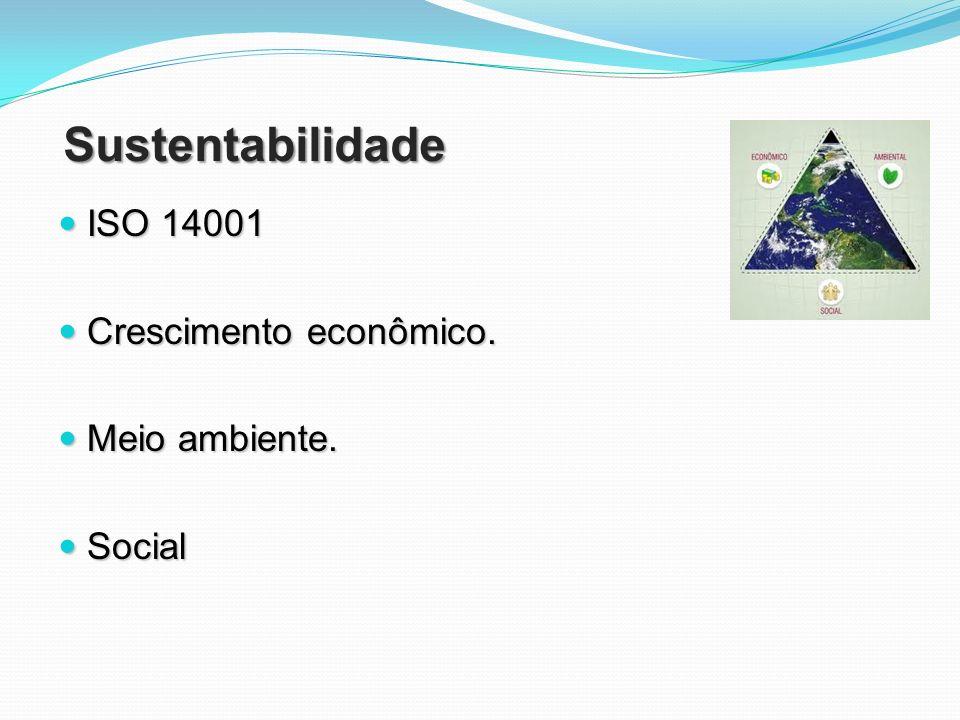 Sustentabilidade ISO 14001 Crescimento econômico. Meio ambiente.