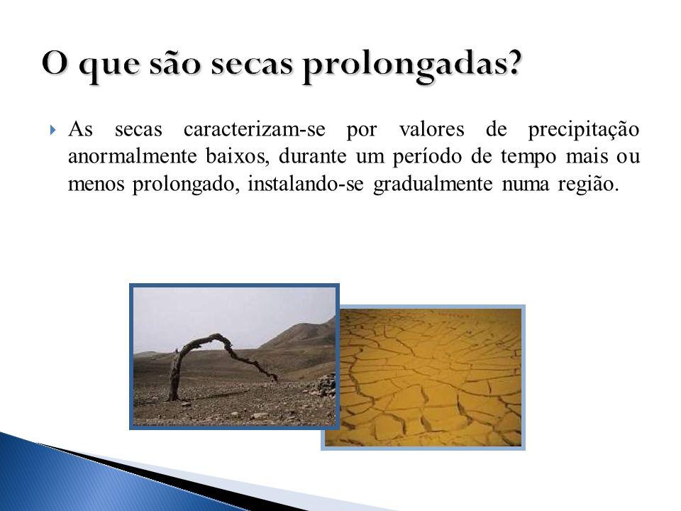 O que são secas prolongadas