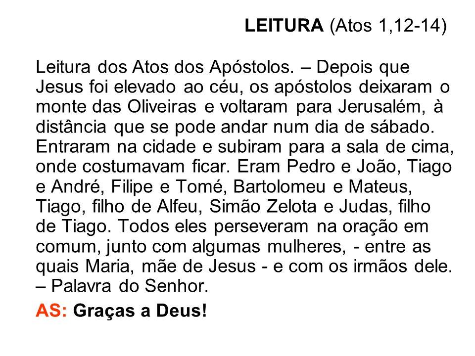 LEITURA (Atos 1,12-14)