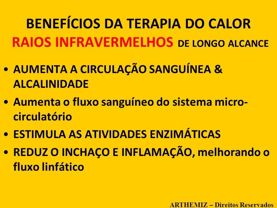 BENEFÍCIOS DA TERAPIA DO CALOR RAIOS INFRAVERMELHOS DE LONGO ALCANCE