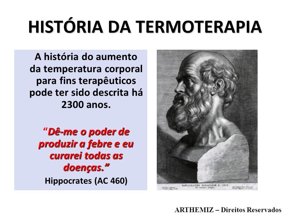 HISTÓRIA DA TERMOTERAPIA