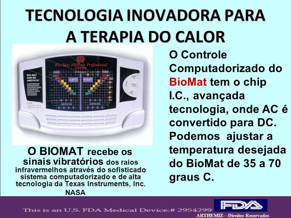TECNOLOGIA INOVADORA PARA A TERAPIA DO CALOR