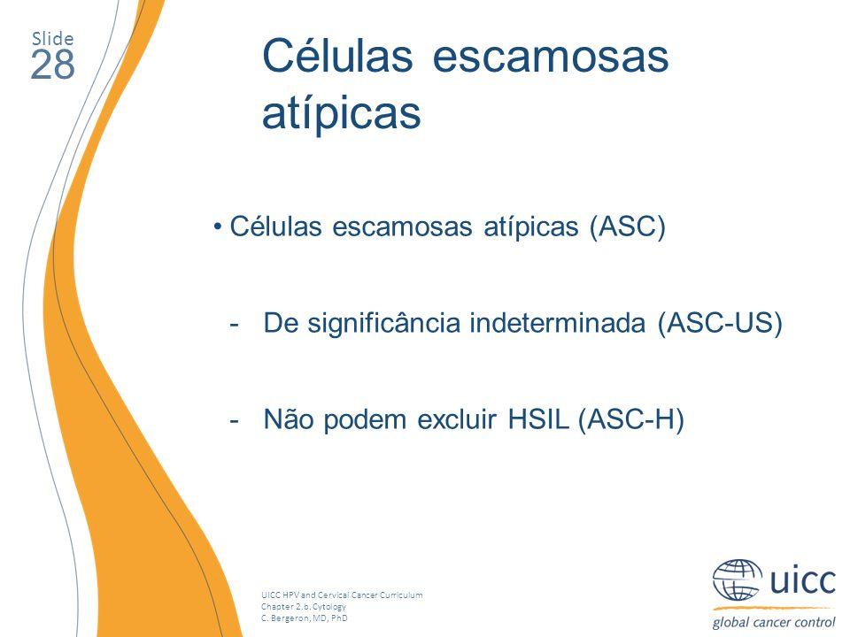 Células escamosas atípicas