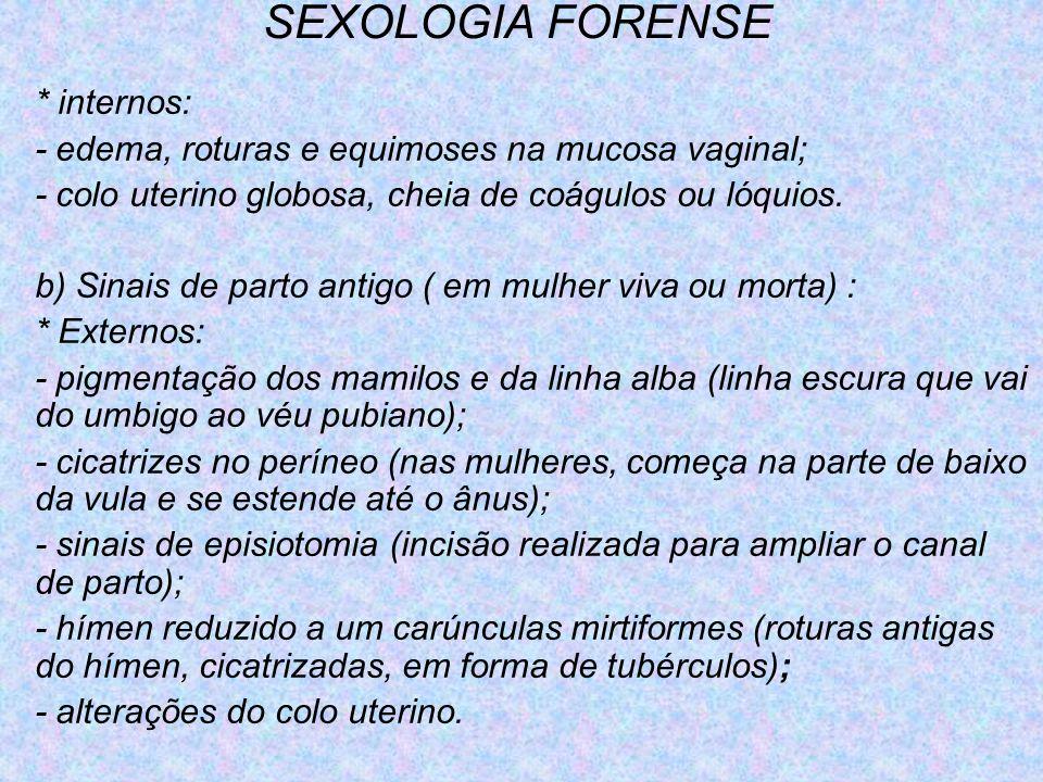 SEXOLOGIA FORENSE * internos: