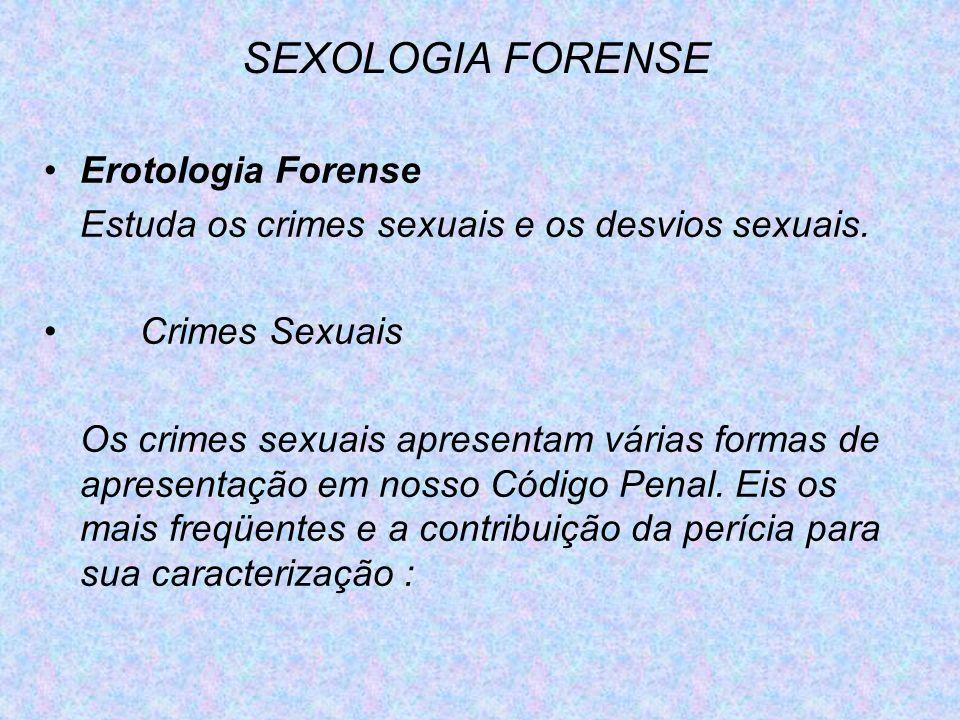 SEXOLOGIA FORENSE Erotologia Forense