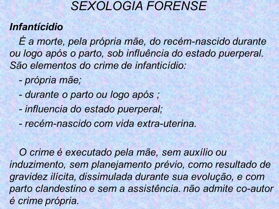 SEXOLOGIA FORENSE Infantícidio