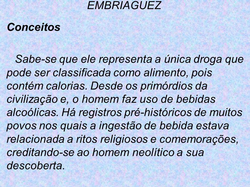 EMBRIAGUEZ Conceitos.
