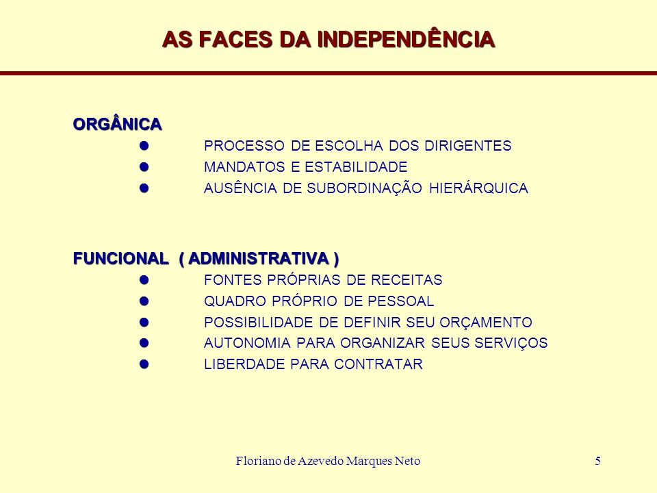AS FACES DA INDEPENDÊNCIA