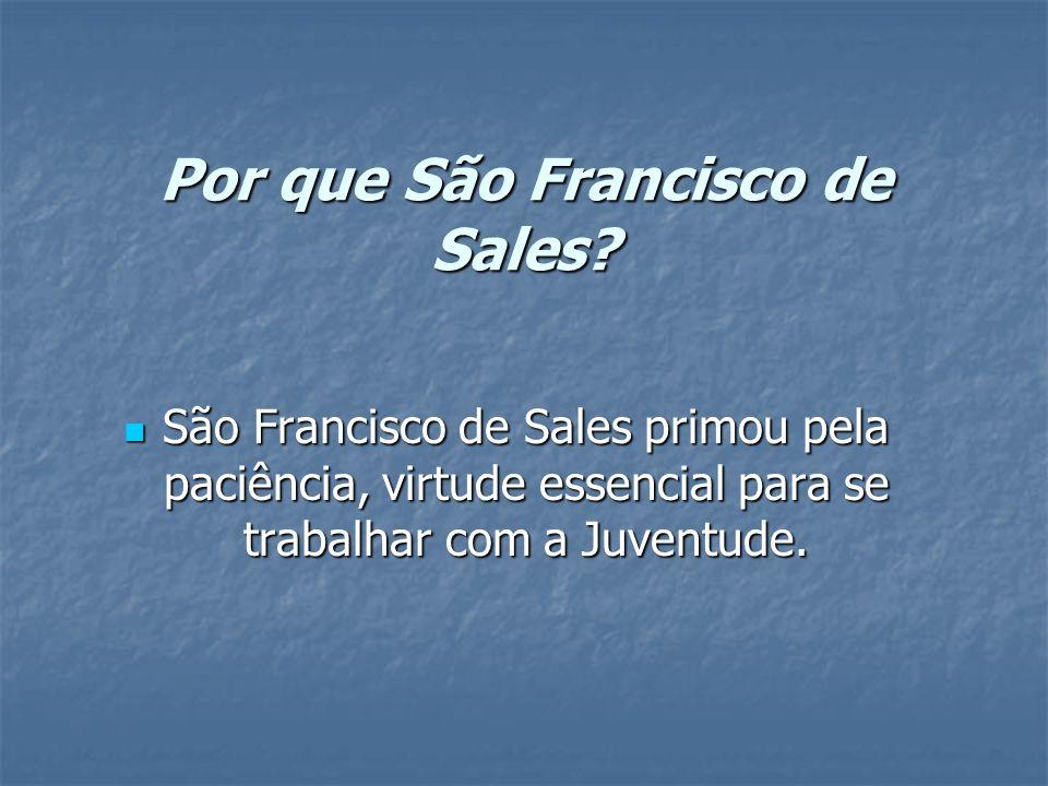 Por que São Francisco de Sales