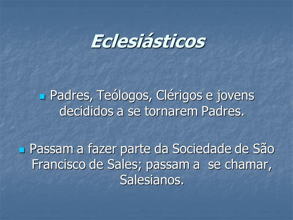 Padres, Teólogos, Clérigos e jovens decididos a se tornarem Padres.