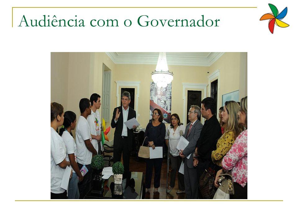 Audiência com o Governador