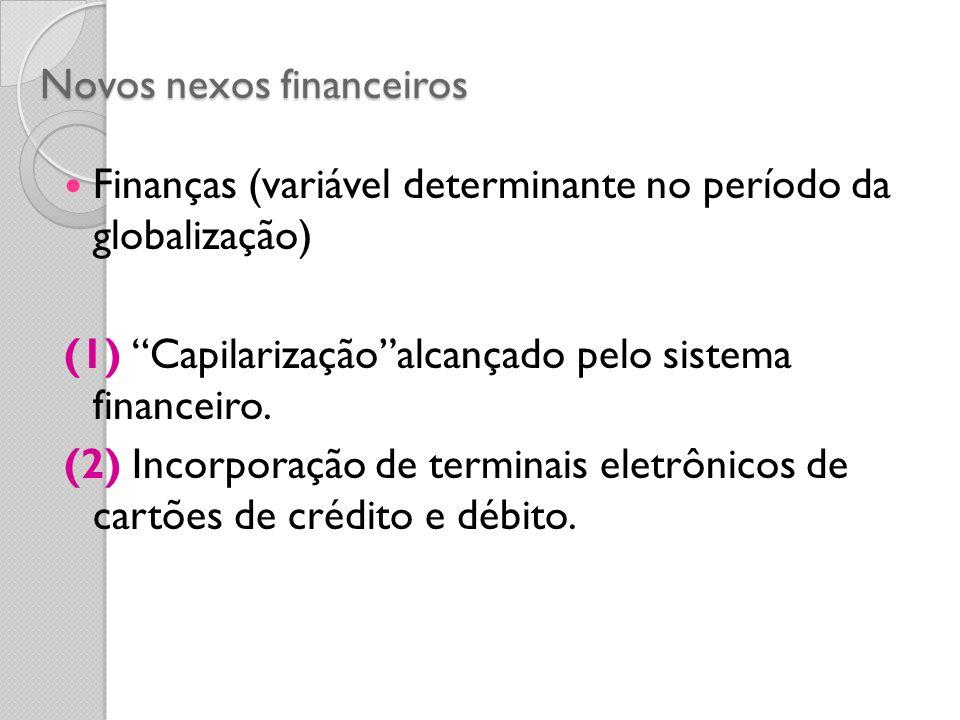 Novos nexos financeiros