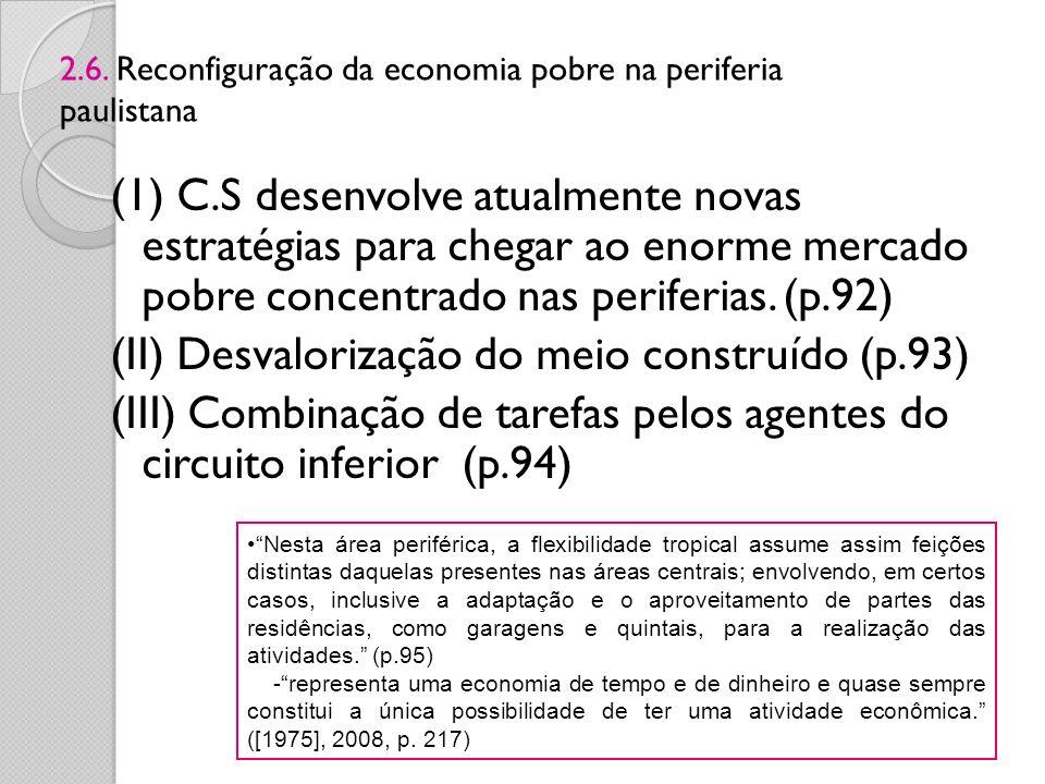 2.6. Reconfiguração da economia pobre na periferia paulistana