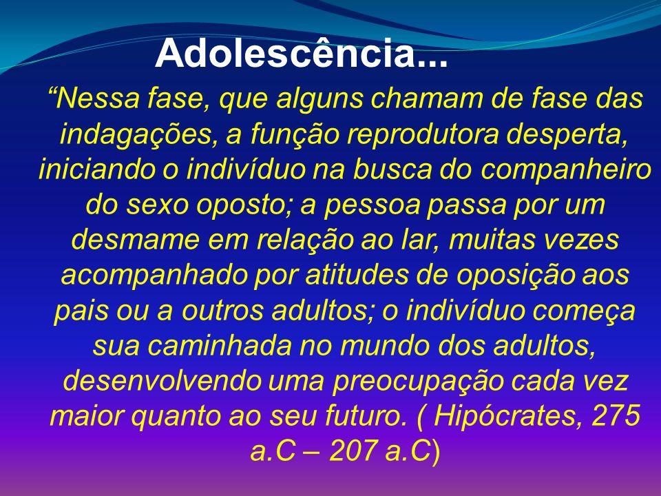 Adolescência...