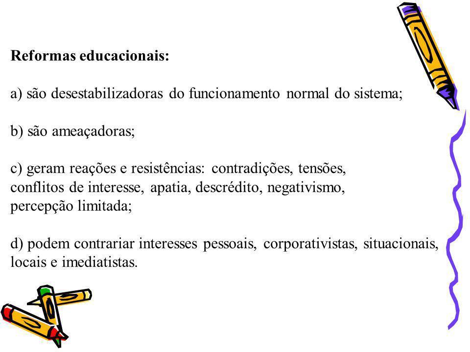 Reformas educacionais: