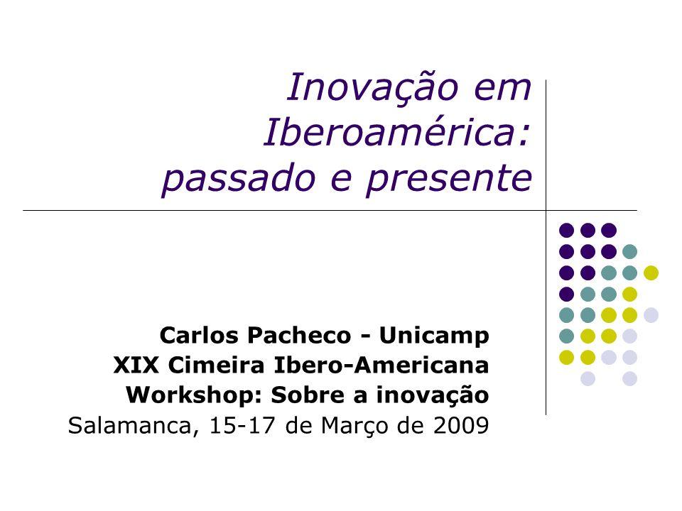 Inovação em Iberoamérica: passado e presente