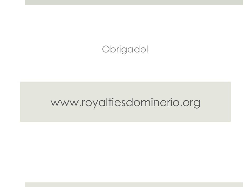 Obrigado! www.royaltiesdominerio.org